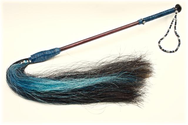 Custom - Beaded Strap & Accent Hair
